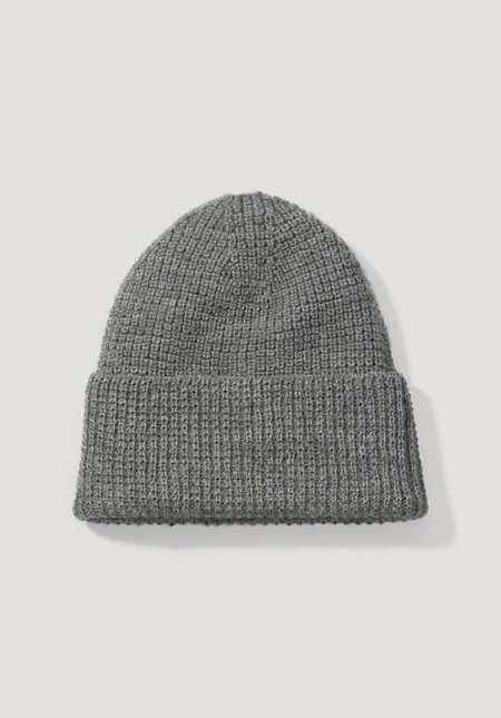 Mütze aus Bio-Schurwolle mit Alpaka