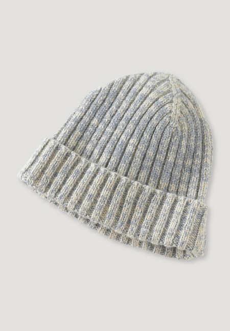Mütze aus reiner Mongolen-Merinowolle