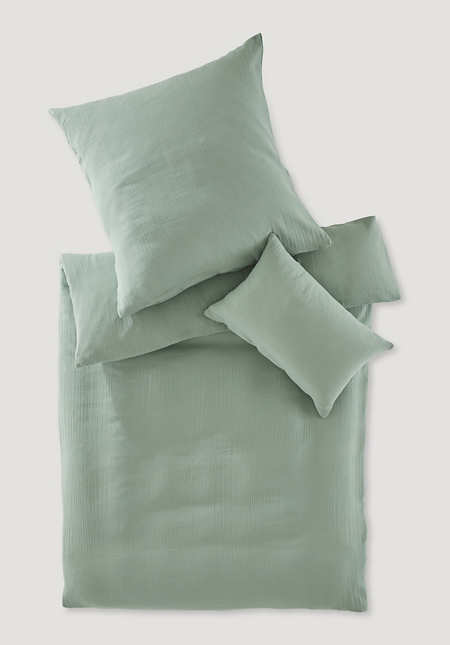 Muslin bed linen made from pure organic cotton