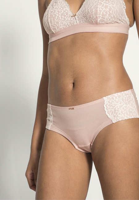 Panty aus Bio-Baumwolle und Modal