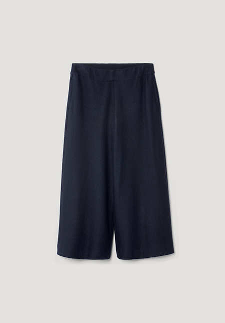Pure new wool culottes