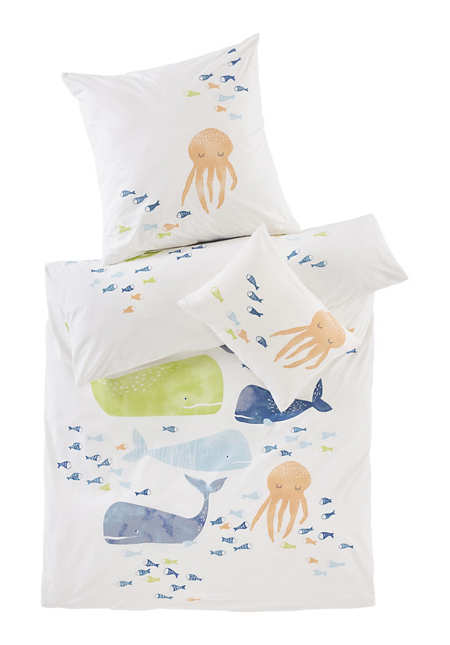 Renforcé-Bettwäsche aus reiner Bio-Baumwolle