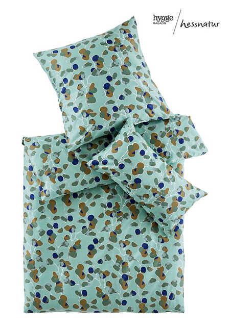 Satin-Bettwäsche Rami aus reiner Bio-Baumwolle