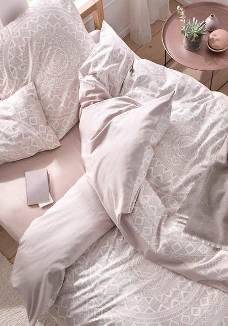 Satin-Wende-Bettwäsche Santa Cruz aus reiner Bio-Baumwolle