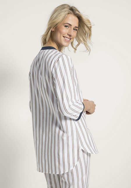 Schlafhemd aus reiner Bio-Baumwolle