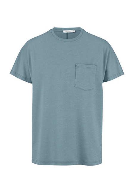 Shirt Modern Fit aus Bio-Baumwolle mit Bio-Merinowolle