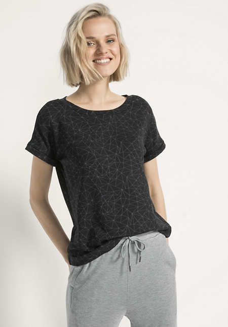 Shirt aus Modal mit Elasthan