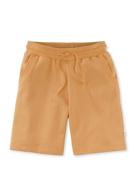Shorts aus Bio-Baumwolle mit Kapok