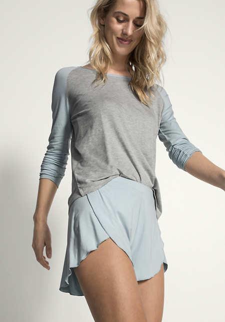 Shorts aus Modal
