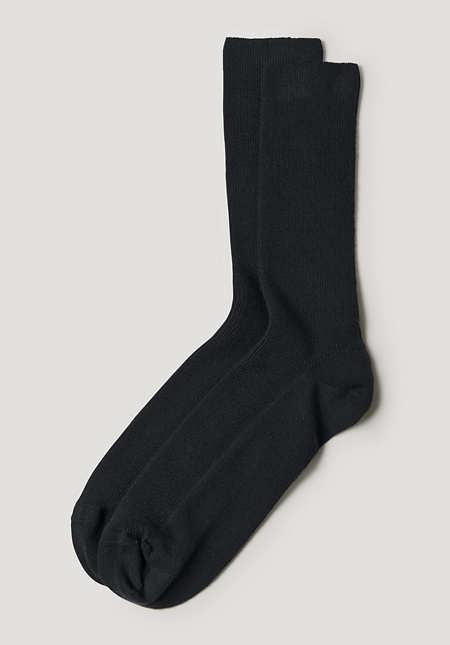 Socke aus reiner Bio-Baumwolle
