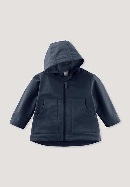 Softshell-Jacke aus reiner Bio-Baumwolle