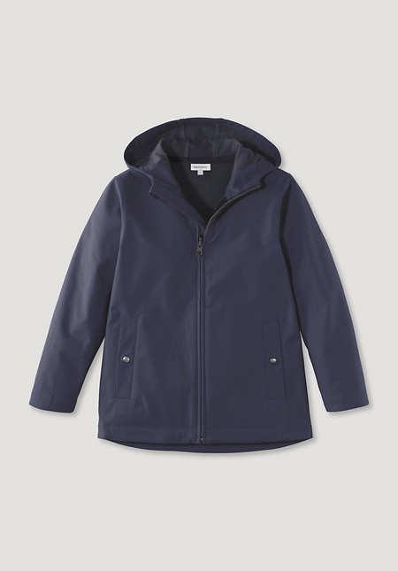 Softshell jacket made of organic cotton