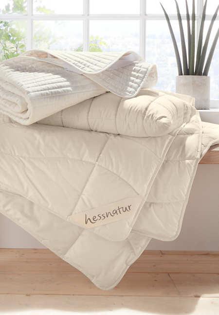 Sommerbettdecke ultraleicht aus reiner Bio-Baumwolle