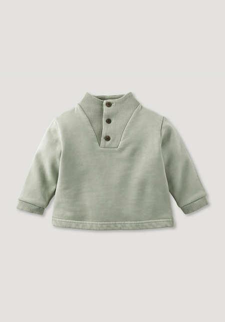 Sweatshirt Mineral Dye aus reiner Bio-Baumwolle