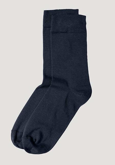 Unisex Socke aus Bio-Baumwolle