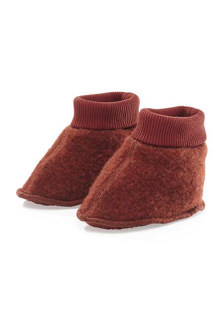 Wollfleece Schuhe aus reiner Schurwolle