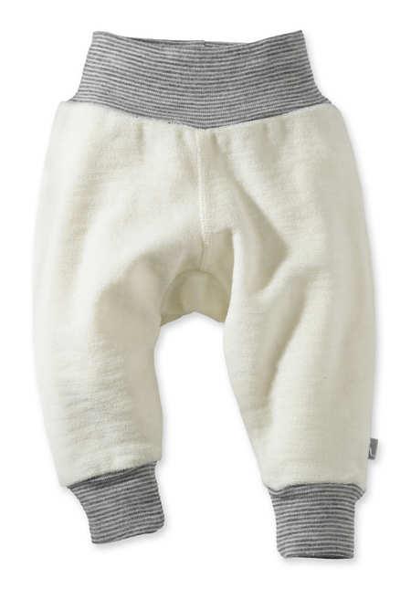 Wollfrottee Hose aus reiner Schurwolle