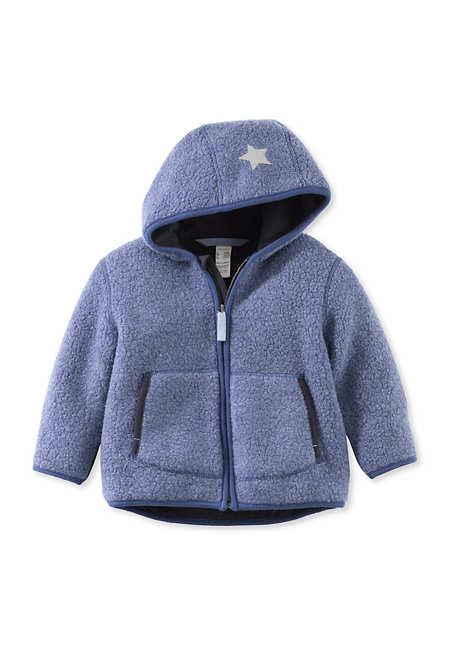 Wollteddy Jacke aus Schurwolle mit Bio-Baumwolle