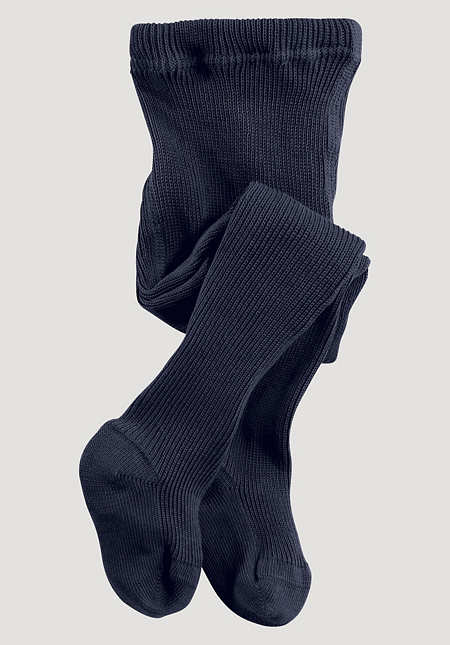 Wool tights made from pure organic merino wool